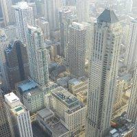Центр Чикаго с 94 этажа небоскрёба JHC :: Юрий Поляков
