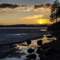 sunset in April :: Dmitry Ozersky