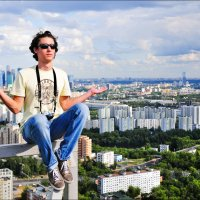 Экскурсии по крышам Москвы. :: Георгий Ланчевский