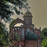 храм Георгия Победоносца :: Александр Корчемный