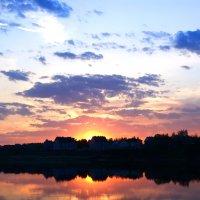 Закат над Волгой :: Олечка Исаева