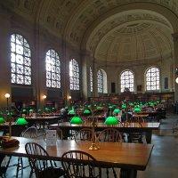 Читальный зал общественной библиотеки, Бостон :: Vladimir Dunye