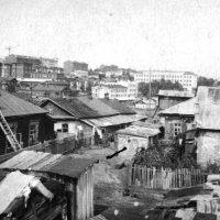 Вид из дома Арсеньева 5. Хабаровск 1950-е. :: Олег Афанасьевич Сергеев