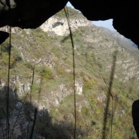 Вид с монастыря Пиргебули на пещеры :: Arusia Davrisheva