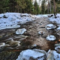 Течет река, крутые берега :: vladimir Bormotov
