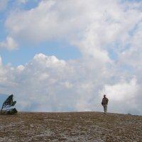 Ветер, горы, облака :: Юлия Грозенко
