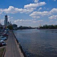 Москва-река. :: Яков Реймер