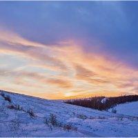 последний закат зимы :: Valery Arhipovich