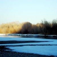 Река вскрылась. Апрель. :: Ольга Иргит