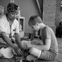 мастер-класс резьбы по дереву :: Sofia Rakitskaia
