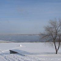 Как замерзала река :: Юлия Грозенко