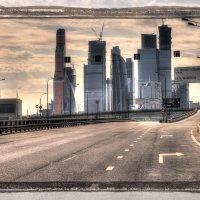 Городской пейзаж :: Александр Лебедев