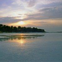 Весна на Бородаевском озере :: Валерий Талашов