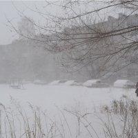 Снежный апрель 2014-го. Челябинск 25.04.2014 :: Людмила Якимова