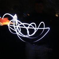 Эксперимент с  фонариком.  18 - 55 :: Виктор