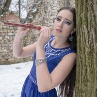 девушка с флейтой :: Евгений K