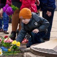 Возложение цветов :: Надежда Горшкова