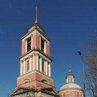 Церковь Троицы Живоначальной в Вишняках (в Больших Лужниках) :: Александр Качалин