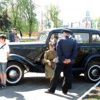ГАЗ М-1, «Эмка» — советский легковой автомобиль. :: Александр Качалин