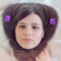 Причёска с цветами :: Анастасия Долинская