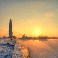 Зимний закат :: Сергей Григорьев