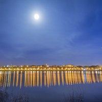 ночной город МУРОМ во всей его красе,при полнолунии! :: Алексей -