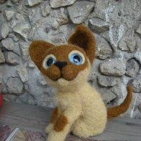 Котёнок Гав....) из шерсти. :: Галина R...