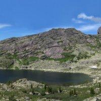 Панорама озеро Каровое :: Сергей Карцев