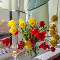Пьяные тюльпаны :: Ирина Приходько