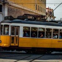 Трамвайчики Лиссабона :: Yuriy Rogov