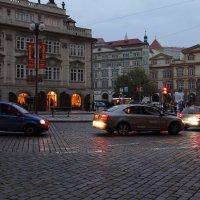 Вечер в городе. :: Андрей Вычегодский