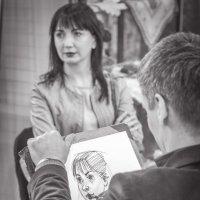 если видишь, что с картины смотрит кто-нибудь на нас... (с) :: Татьяна Исаева-Каштанова