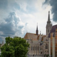 Майская гроза над Будапештом :: Зоя Коптева