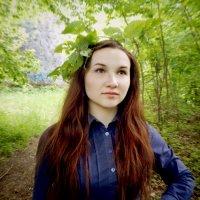 Лесной друг. :: Polina Akulenko