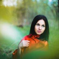 В красном :: Олеся Декабрьская