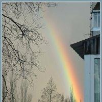 Закатная радуга :: Юрий Муханов