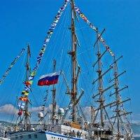 фрегат НАДЕЖДА в порту г. Новороссийск :: Валерий Дворников