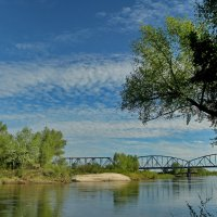 Мост через Медведицу :: Татьяна Баценкова