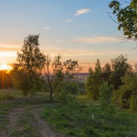 Майская закатная... :: Дмитрий Гортинский