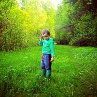 один в лесу... :: Irinka Zharova