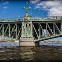 СПб. Троицкий мост. Фрагмент. :: Евгений Никифоров