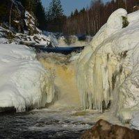 Водопад Кивач :: Михаил Лютенко