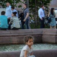 Москва. Пушкинская площадь. Лица 3 :: Минихан Сафин