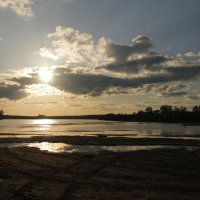 Закат над Окой :: Margarita Pavlova