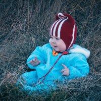 Ребёнок на сене :: Ричард Петров