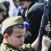 Юный солдат :: Роман Кондрашин