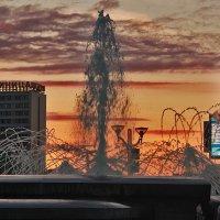 фонтан на закате :: Светлана З