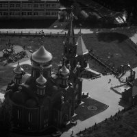 Над храмом :: dmitriy-vdv