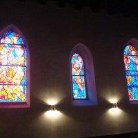 Витражи в одной из венских церквей :: svk