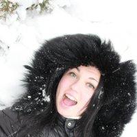 Маргошка зимой. :: Руслан Грицунь